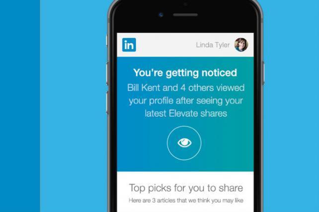 LinkedIn Rolls Out Elevate Content-Sharing Platform