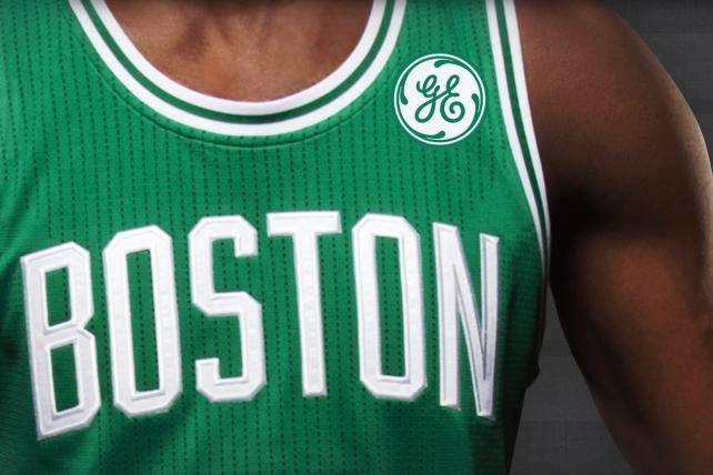 GE Pays Boston Celtics Over $7 Million a Year for Ads on Jerseys