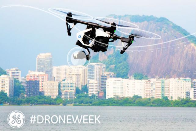 Let the Games Begin With GE's 'Drone Week'