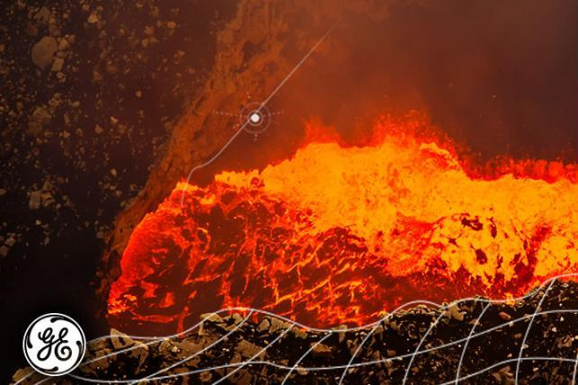 GE Creates World's First 'Connected Volcano'