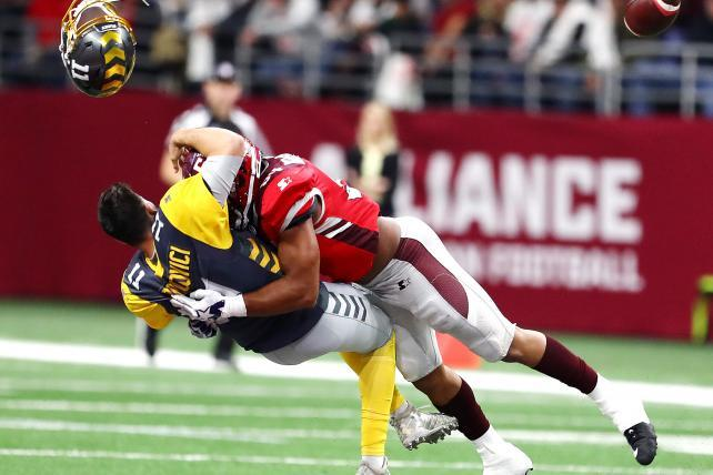 Light on ads, the AAF connects with football-hungry fans