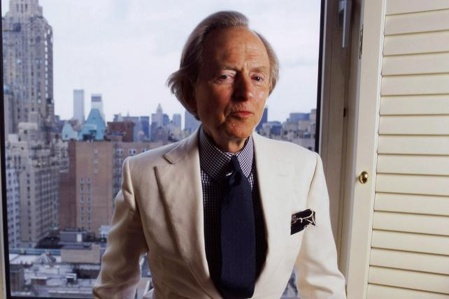 R.I.P. Tom Wolfe, media master and literary brawler