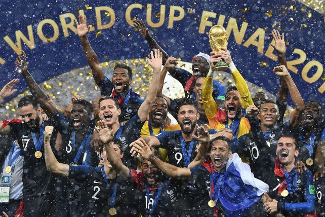 Sacre bleu! World Cup Final ratings drop in France's morning of victory