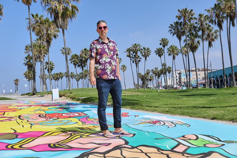 Small Agency, Big Idea: TBD brings Havaianas' foot-friendly art to Venice Beach