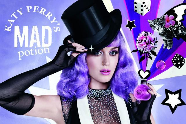 Katy Perry, Coty Launch Perfume Line With Twitter Pop-Up Shop