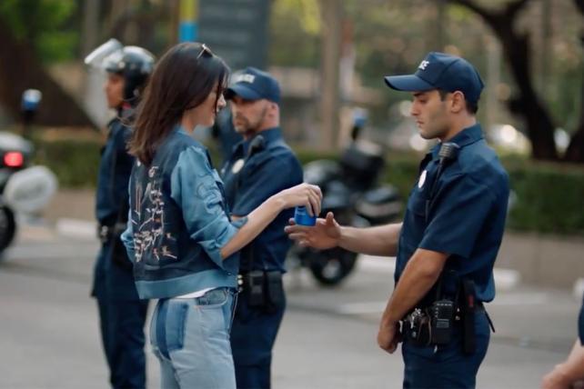 Pepsi's Kendall Jenner-Joins-a-Protest Ad Sparks Backlash