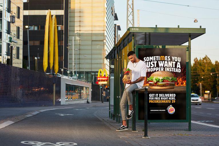 Burger King Finland: McDonald's Pick Up