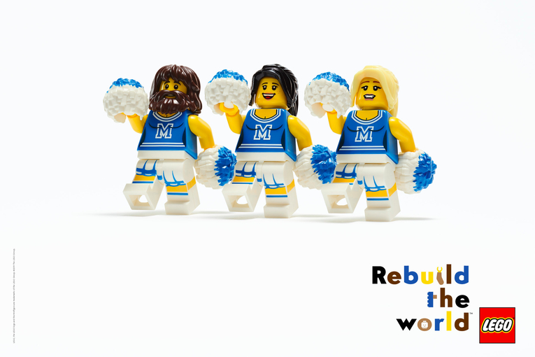 Lego wants to 'rebuild the world' in first global brand campaign for 30 years