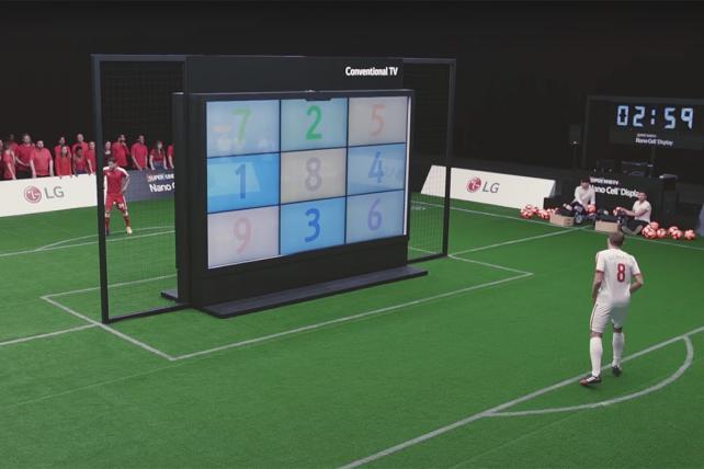 LG Plays Soccer and Scores in This Week's Viral Video Chart