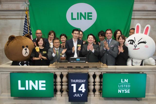 While You Were Chasing Pokémon, Line Had a $1.3 Billion IPO