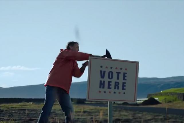 Levi's promotes the vote in new campaign