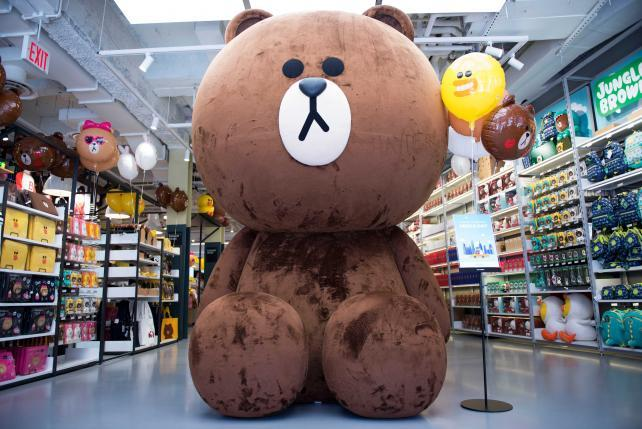 Japanese Messaging App Tries to Crack the U.S.... With a Store for Plush Toys