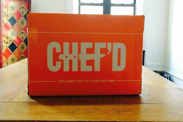 Men's Health Enters Meal-Delivery Kit Business With Chef'd Partnership