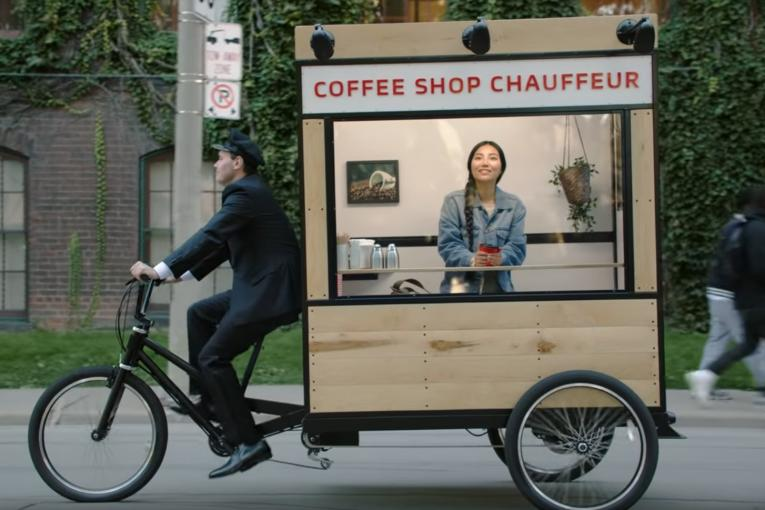In the Age of Social Networking, Nescafe's Pan-European Ad