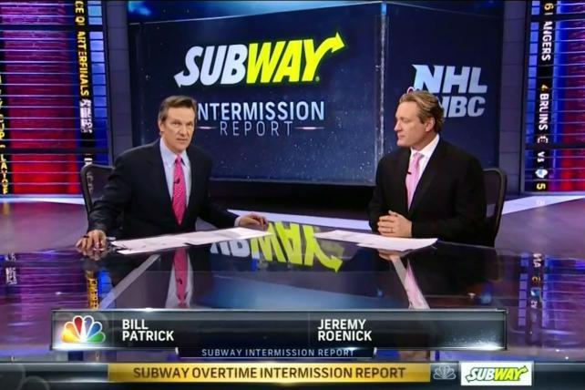 Working Overtime: Subway Scores Again With Risky Stanley Cup Play