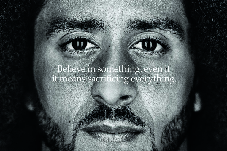 Nike's 'Dream Crazy' Colin Kaepernick billboard wins Outdoor Grand Prix at the Cannes Lions