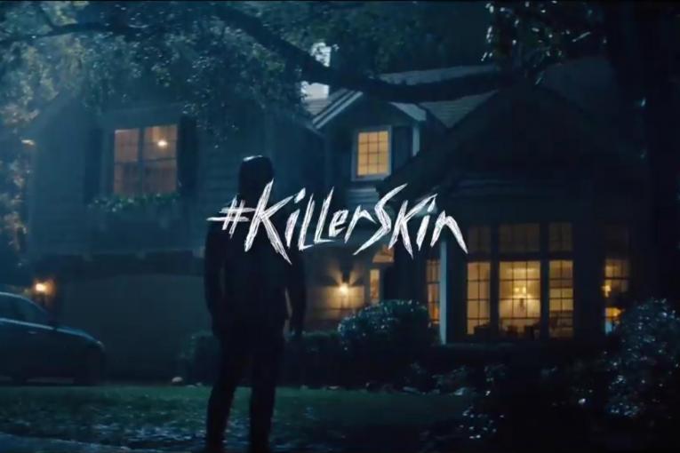 #KillerSkin Super Bowl Teaser