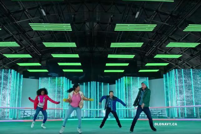 Watch the newest ads on TV from Old Navy, Fabletics, PlayStation and more
