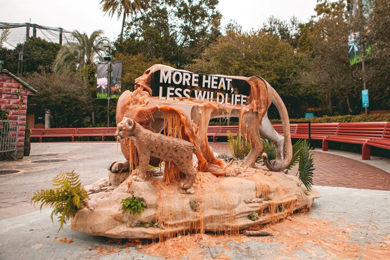 Agency Brief: Zubi erects statues to melt before Floridians' eyes to shed light on climate change