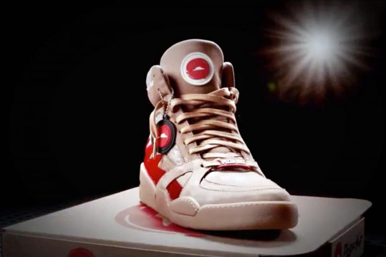 Press a Button on These Sneakers, Get Instant Pizza Hut