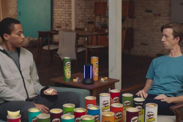 Pringles flavor stacking is for everyone, almost, in Super Bowl commercial