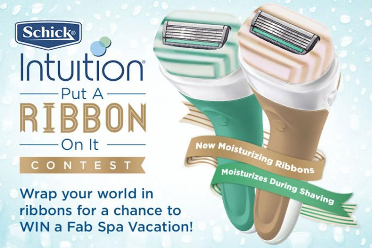 Schick Intuition: Ribbon Bomb | AdAge