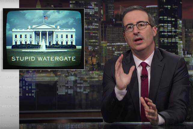 'Stupid Watergate II': Watch John Oliver explain how Trump & friends are trying to hobble the Mueller probe