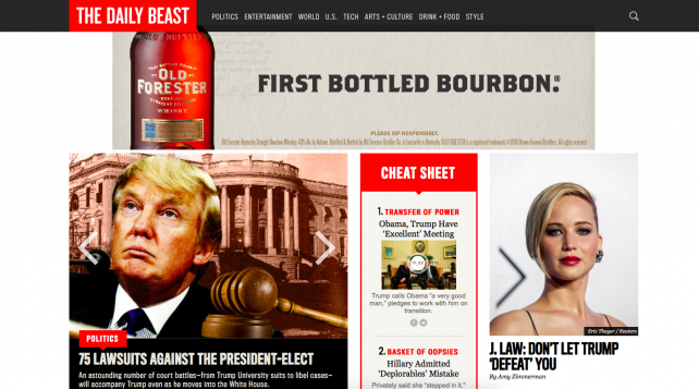 The Daily Beast Joins 'The Loyal Opposition.' Is That Good for Business?