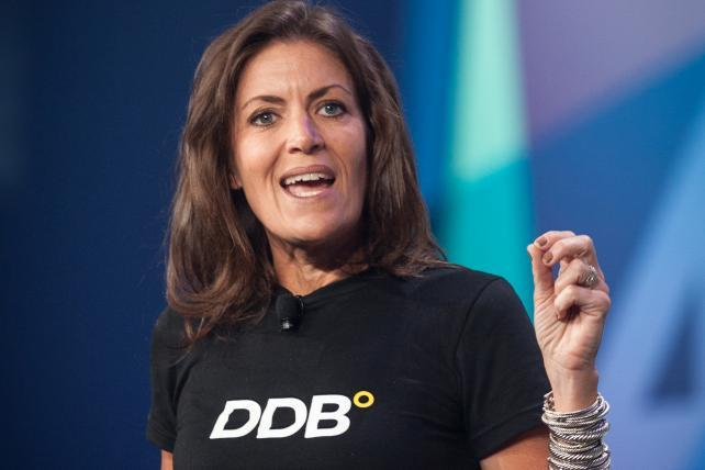 DDB's Wendy Clark: Industry Must 'Stay Restless' on Gender Discussion