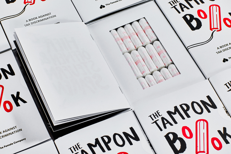 'The Tampon Book,' a subversive attack on unfair tax rates, wins PR Grand Prix at Cannes Lions