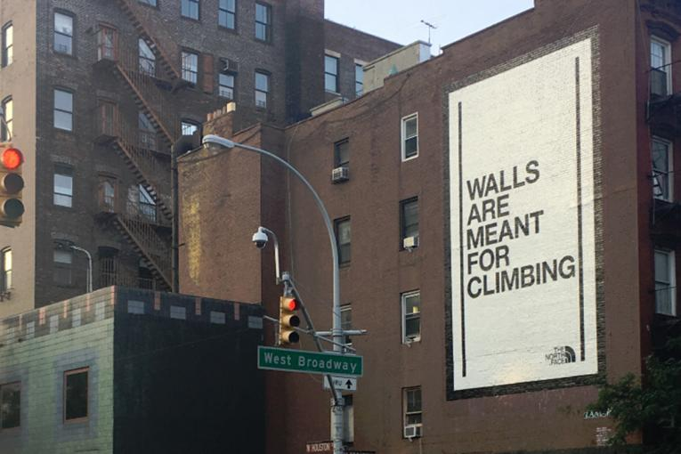 60c396f244 The North Face: Walls Can Unite Us, Says Global Campaign by the North Face