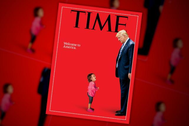 'Welcome to America': Time cover story asks 'What kind of country are we?'