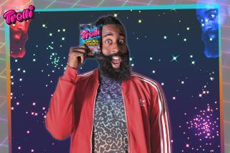 71a8a12c5f39 Trolli just dropped giant gummy versions of James Harden s sneakers ...