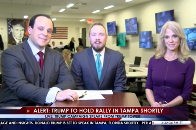 Trump TV 1.0? Trump Starts 'Trump Tower Live' on Facebook Live