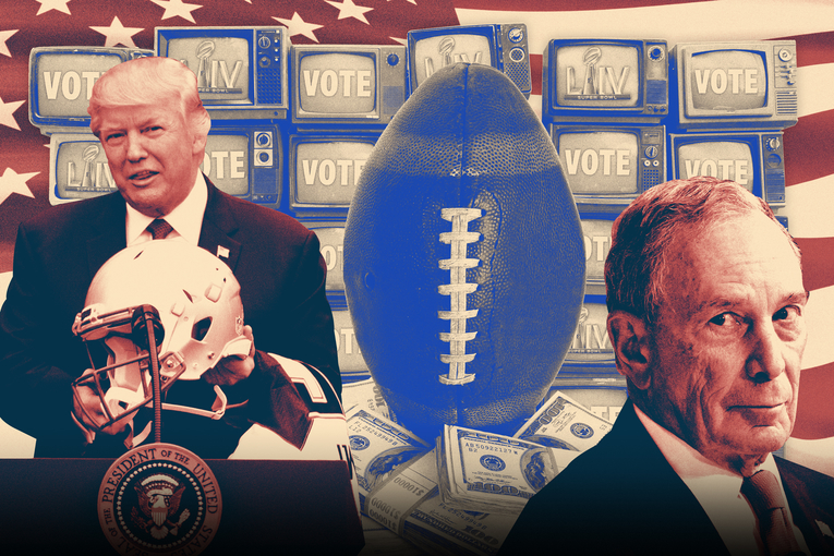 Fox isolates Trump and Bloomberg Super Bowl ads: sources