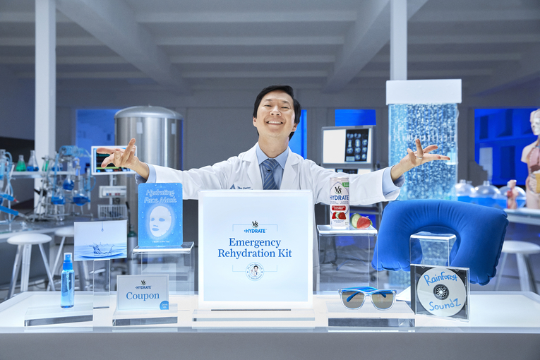 V8 Hyrdate: Dr. Ken Jeong Center for Hangover Cures