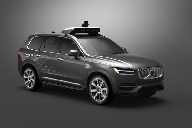 Uber Partners With Volvo to Put Self-Driving SUVs on U.S. Roads by Year-End