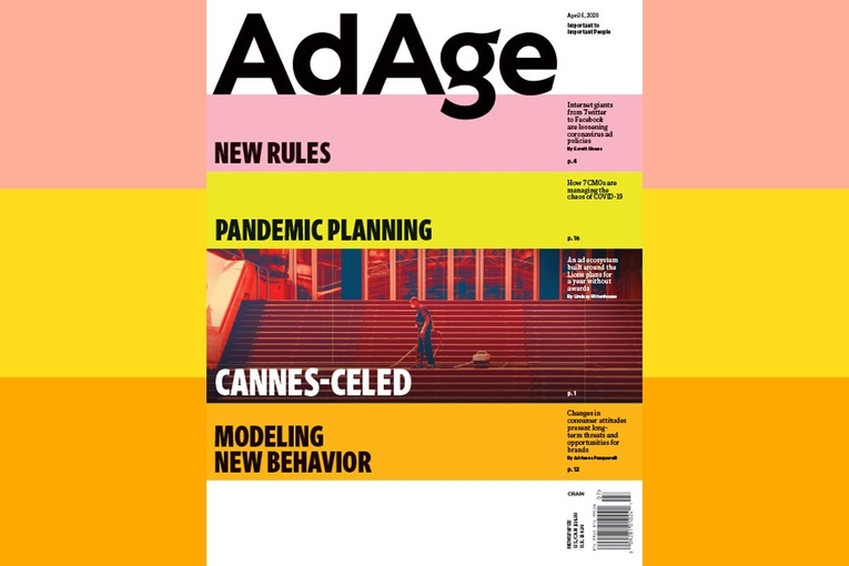 Subscriber Exclusive: Ad Age April 6, 2020 Issue