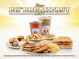 Subway, BK Battle It Out for Breakfast