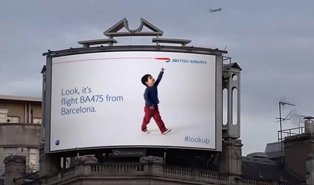 British Airways' 'Magic' Billboards Win Direct Grand Prix at Cannes