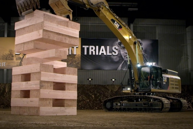 Ad Review: Caterpillar, Ogilvy Craft Cool B-to-B Spot