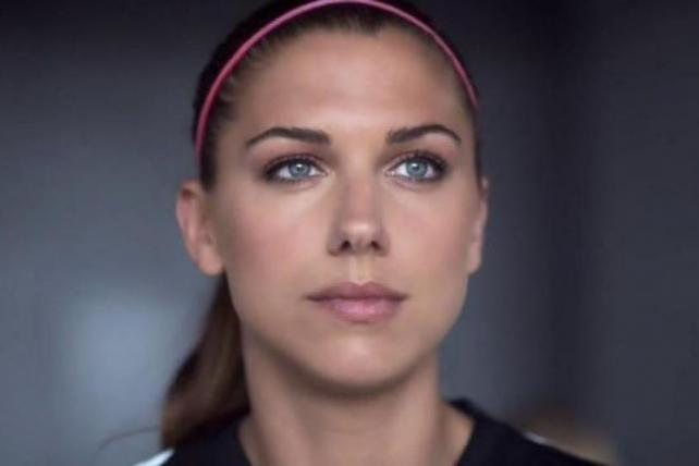 Alex Morgan Takes a Cue from Her Younger Self in New Chobani Ad