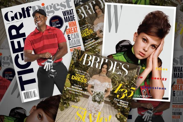 Conde Nast will reportedly put a 'For Sale' sign on its Brides, Golf Digest and W magazines