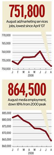 Ad-Industry Jobs: August 2008
