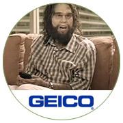 Geico Caveman Waits at Cro-Magnon & Vine