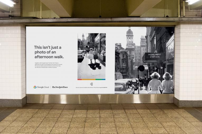 Google Cloud doubles down on its New York Times campaign