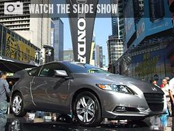 3-D Is Key at Honda's Times Square Event