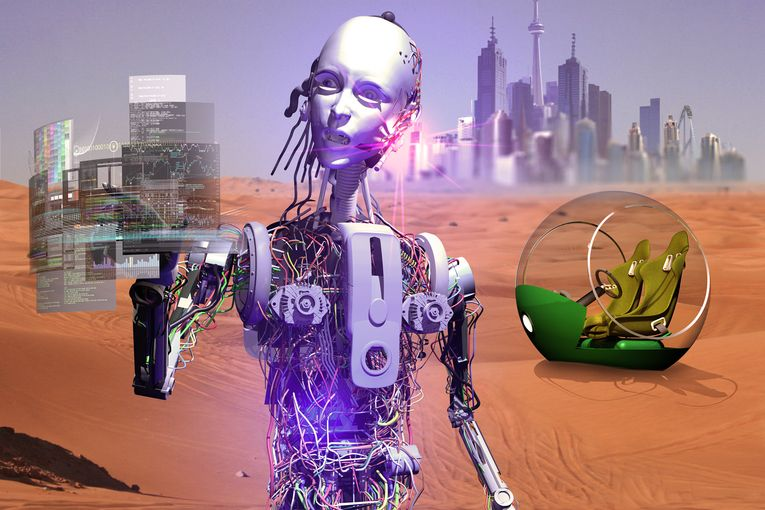 Opinion: How the rise of robots can boost the human creative process