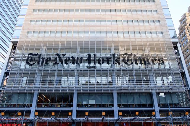 Trump brands NYT 'a true ENEMY OF THE PEOPLE!' Here's what he's mad about now