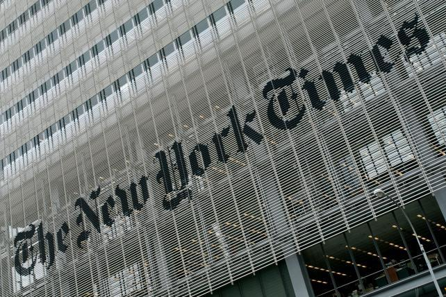New York Times gets down to business, eyes TV at NewFront
